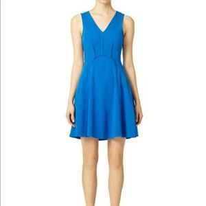 NWT Rebecca Taylor Blue Anchor Dress